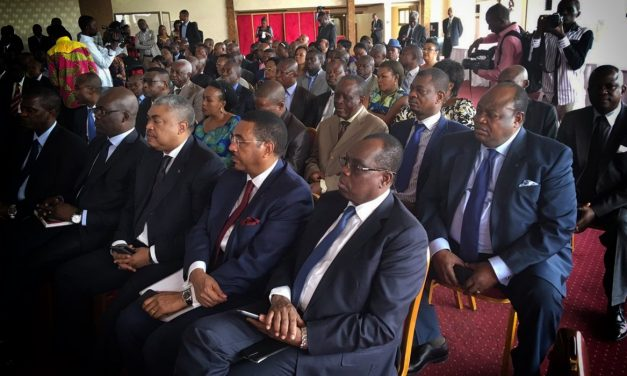 Development of the Congo DR parliamentary group