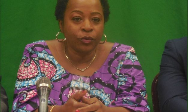Angèle Makombo, the President of the Congolese League of Democrats