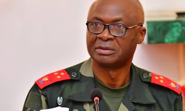 Gen Celestin Mbala Reappointed Congo's army chief of Staff