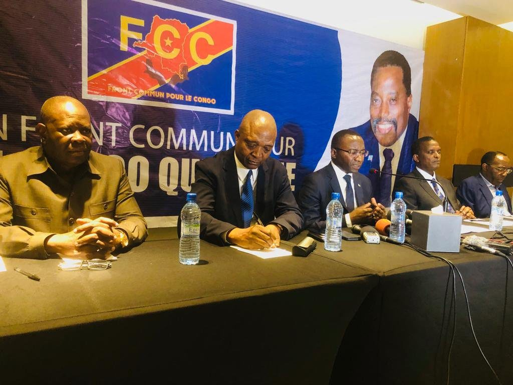 Common Front for the Congo(FCC) goes back to Basics