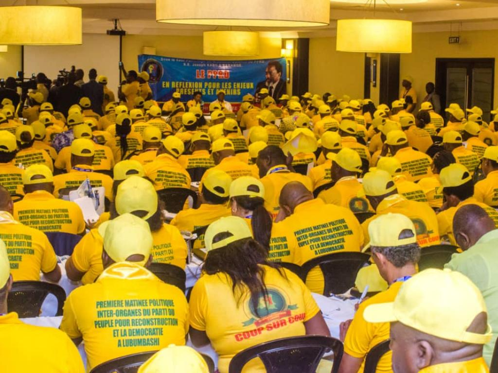 DRC People's Party for Reconstruction and Democracy (PPRD)