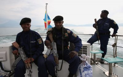 CONGOLESE NATIONAL POLICE CARRY OUT OPERATIONS IN BUKAVU