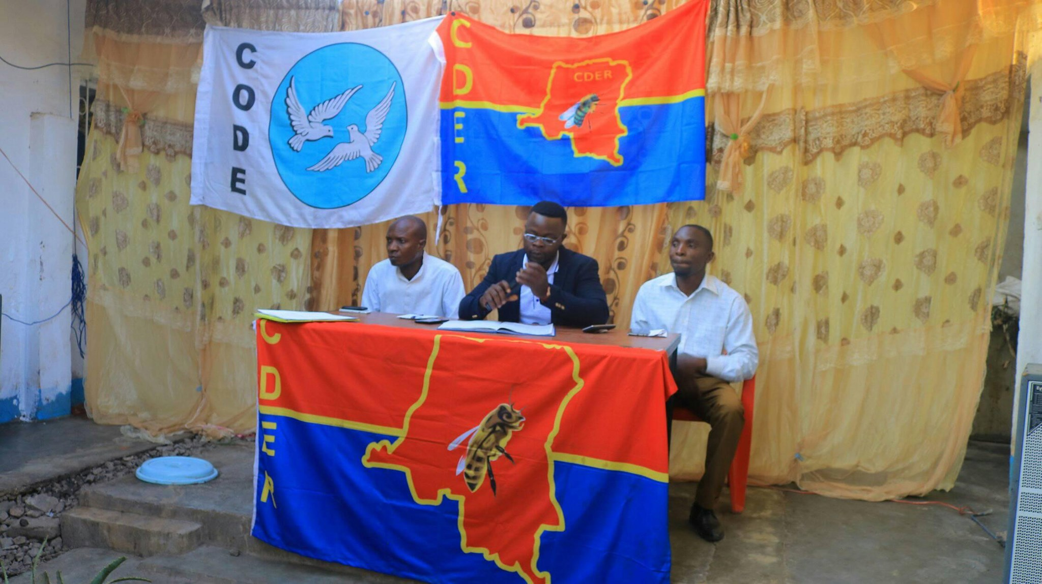 DRC renovating democrats (CDER) political bureau