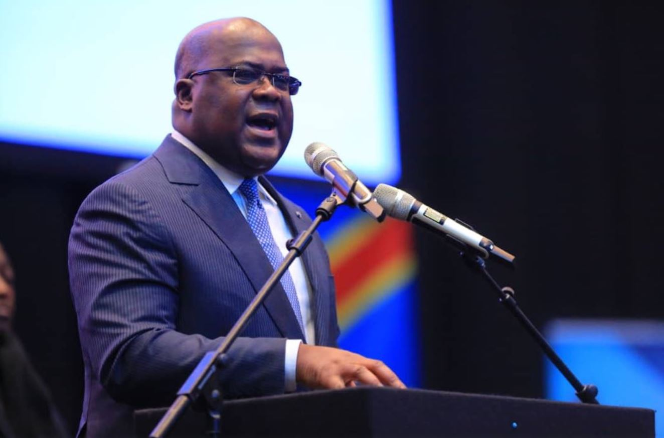Félix Tshisekedi at the United Kingdom-Africa summit on investment