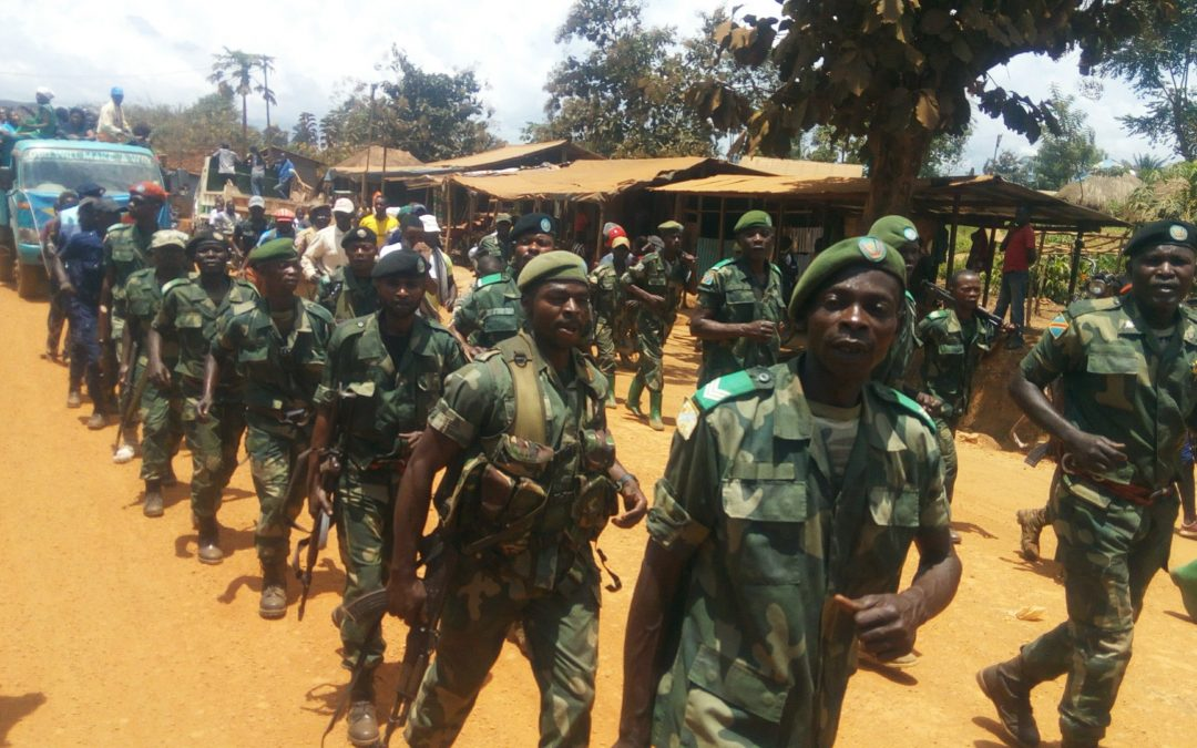 FARDC Captures the Headquarters of Mai Mai militias