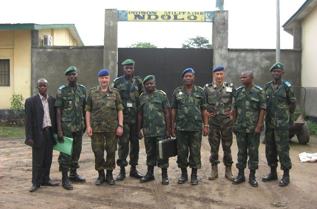 COVID19 Cases Confirmed in DRC, Ndolo military prison