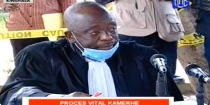JUDGE RAPHAËL YANYI, PRESIDING OVER THE VITAL KAMERHE CASE IS DEAD