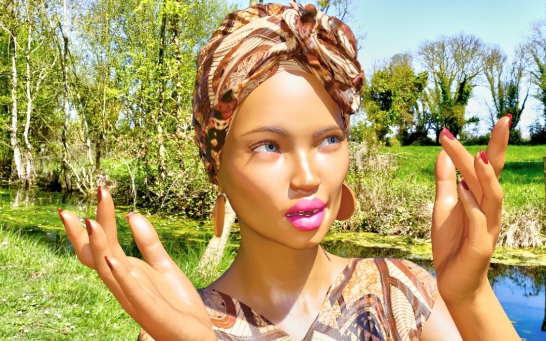 English Girl Joins Congolese Models