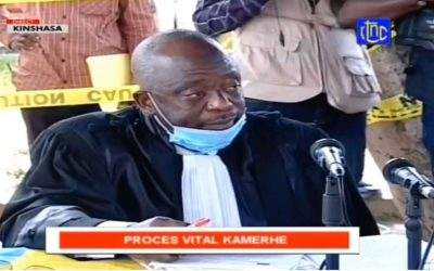 JUDGE RAPHAËL YANYI, PRESIDING OVER THE VITAL KAMERHE CASE IS DEAD