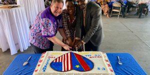 US ambassador to the DRC,  Mike Hammer Demostrates American Generosity