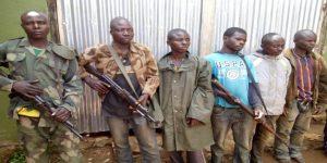 Militiamen kidnap Congolese police commander